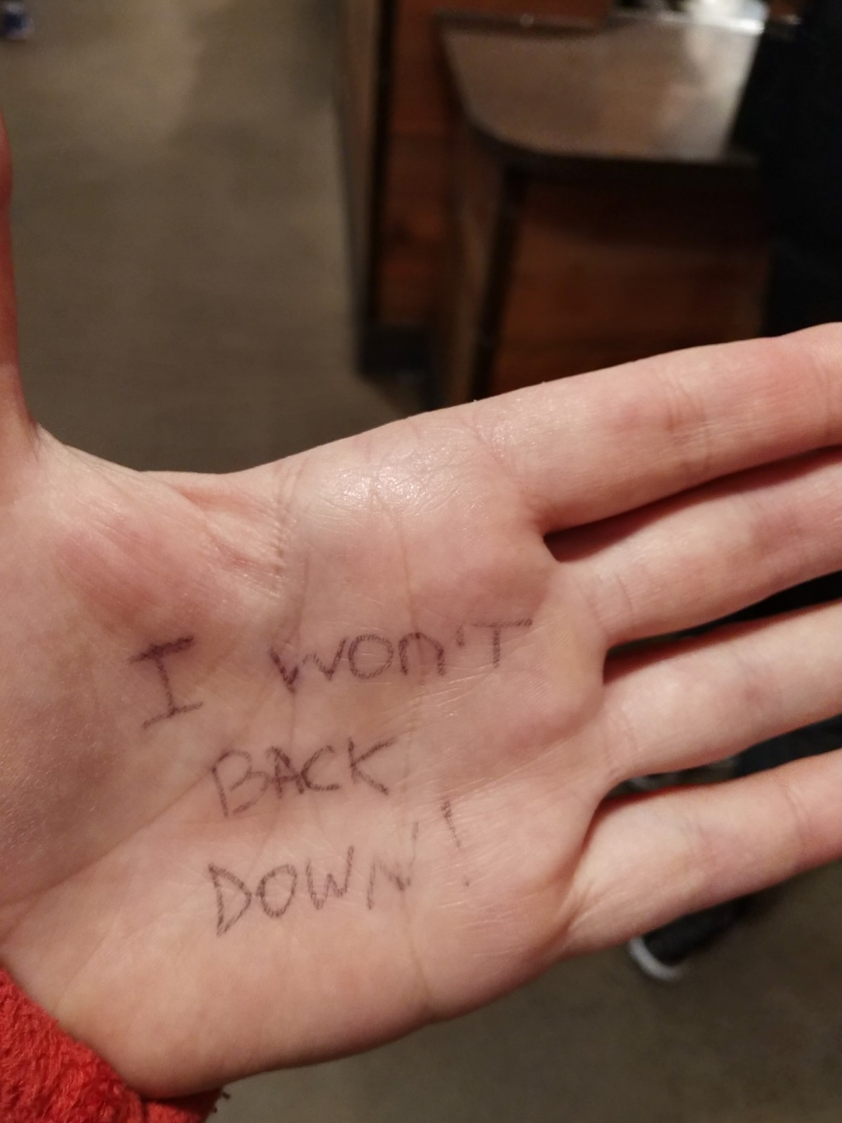 I wont back down - MY Marathon 2018